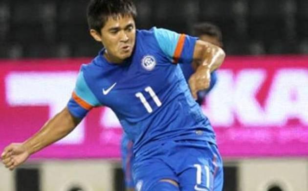 Indian football captain Sunil Chhetri - File Photo