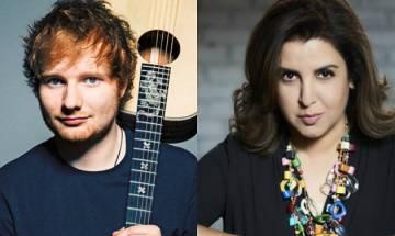 Ed Sheeran attends Farah Khan's welcome party ahead of his Divide concert in Mumbai, shakes a leg with Badri Ki Dulhania
