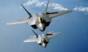 US to send six F-22 Raptor stealth fighter jets to South Korea for military exercise 'Vigilant Ace'