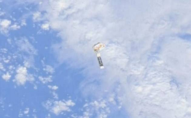 NASA tests 'Wireless-in-Space' for returning small spacecraft to Earth (Source: NASA)