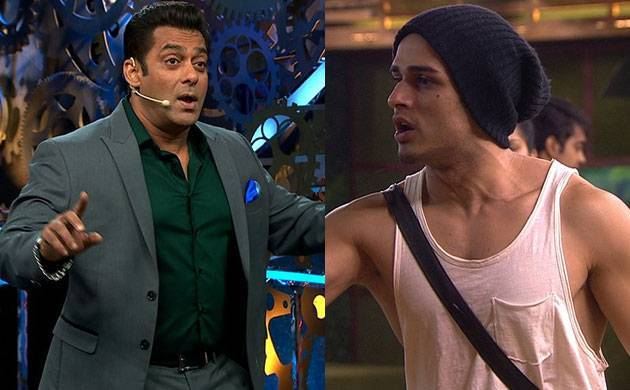 Bigg Boss 11: Salman Khan SLAMS Priyank Sharma for his comments on Shilpa Shinde & Arshi Khan