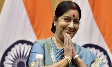 Sushma Swaraj asks Indian High Commission to issue medical visa for Pakistani national