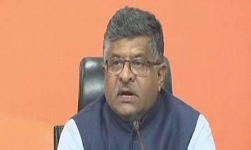 BJP leader Ravi Shankar Prasad says Rahul Gandhi 'doesn't understand terrorism'