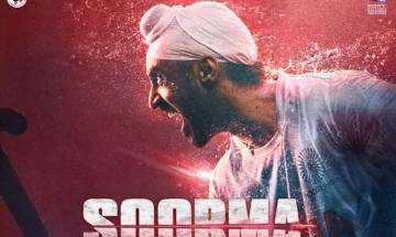 Diljit Dosanjh all fired up for Soorma, see the poster