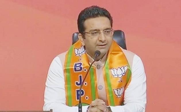 BJP National spokesperson and Supreme Court lawyer Gaurav Bhatia (Source: ANI Twitter)