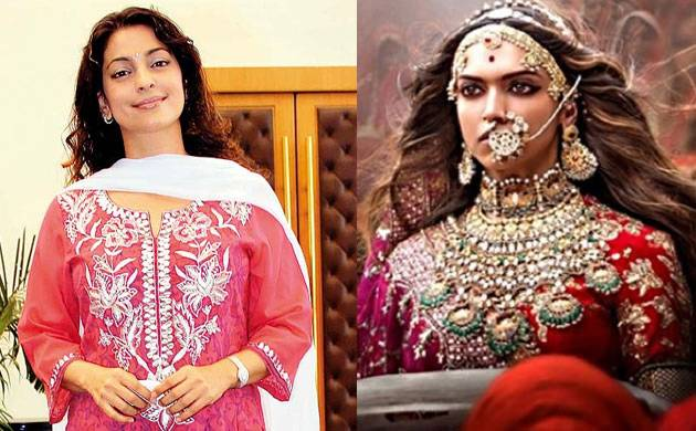 Padmavati row: Juhi Chawla criticizes death threats given to Deepika Padukone