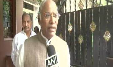 Cong MP Mallikarjun Kharge says BJP talks about Ram temple whenever election approaches