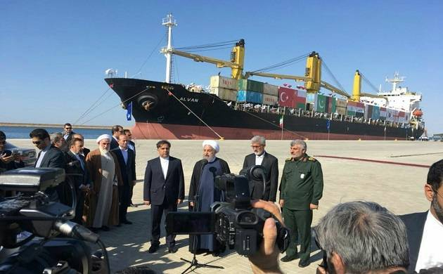 The Chabahar port is being considered a gateway to golden opportunities for trade by India, Iran and Afghanistan with central Asian countries  (Image source: Twitter)