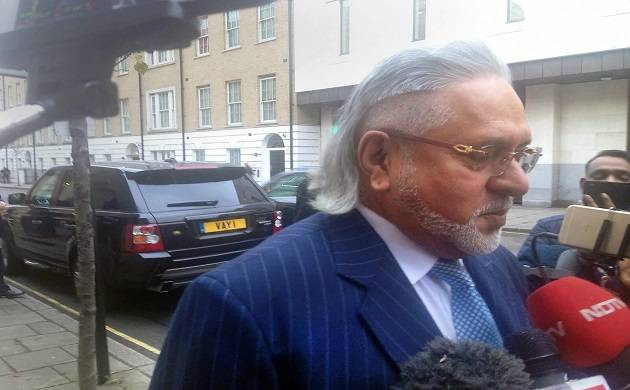 Vijay Mallya arrives for the opening day of his extradition trial at Westminster Magistrates' Court in London on Monday morning. (PTI Photo)