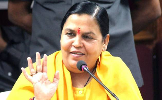 'I will fast unto death if Ganga cleaning plans don't start by October 2018', says Uma Bharti (File Photo)
