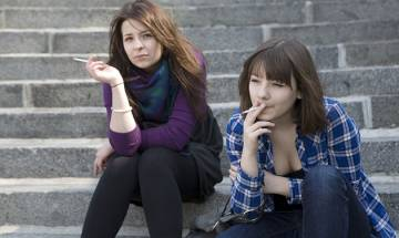 Smoking is stylish and COOL, so believes big section of teenagers