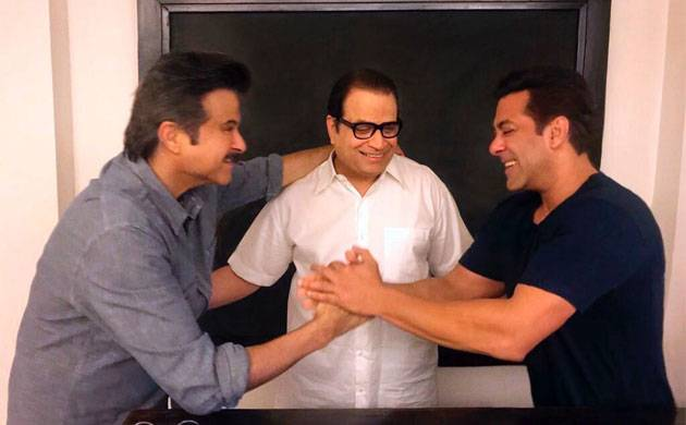 Race 3: Salman Khan confirms Anil Kapoor's addition his movie in a 'jhakas' way
