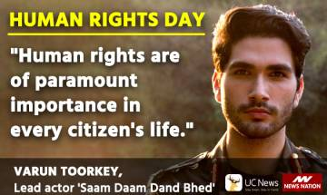Know Your Rights: Every individual is born with human rights, they need to be preserved: TV actor Varun Toorkey