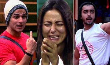 Bigg Boss 11: Luv Tyagi-Priyank Sharma engage in an UGLY fight; Hina Khan BREAKS down in tears (watch video)