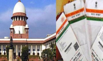 SC extends linking of Aadhaar with bank accounts, various scheme to March 31, 2018