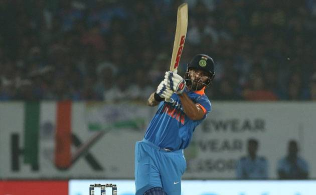 Dhawan's blistering ton powers India to 8 wicket win in Vizag ODI, clinch 8th successive series win
