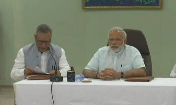Cyclone Ockhi: PM Modi holds meeting with officials in Lakshadweep