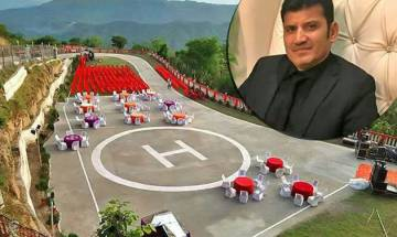 Himachal MLA worth Rs 3.3 billion commutes by helicopter, has own helipad