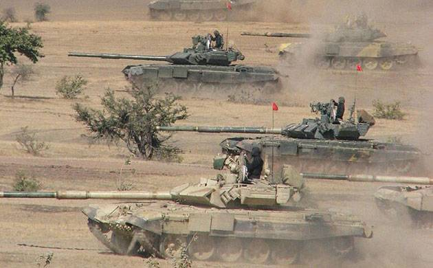 T-90 Tank Bhishma in action