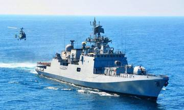 INS Trishul to return home tomorrow after anti-piracy patrol of 120 days