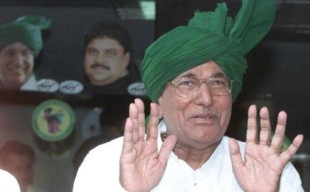 HC grants 2-week parole to Chautala to look after ailing wife