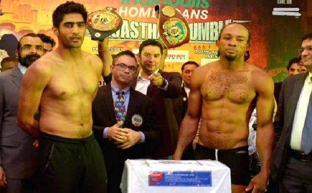 'Rumble Rajasthan' Vijender Singh beats Ernest Amuzu to register 10th consecutive win
