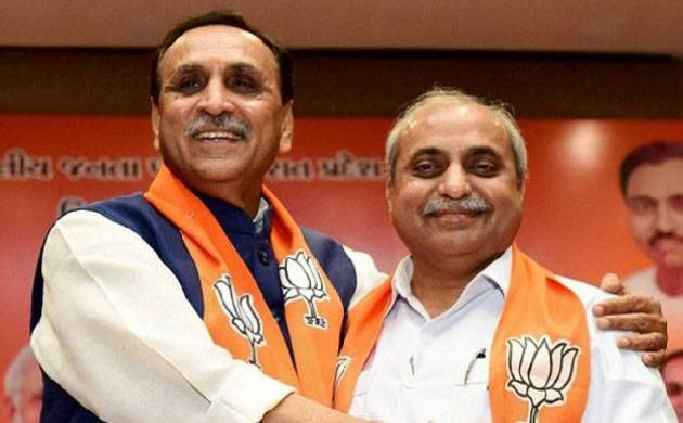 Vijay Rupani to take oath as Gujarat Chief Minister today; PM Modi, NDA-ruled CMs to attend oath-taking ceremony (File Photo)