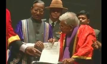 Nalanda Open University awards MA degree to 98-year-old man