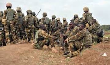 Ugandan army claims 100 rebels killed in DR Congo strikes