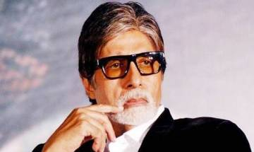 Amitabh Bachchan suffering from old shoulder pain after heavy lifting on film sets