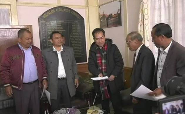 Major blow for Congress, 5 Meghalaya MLAs resign to join BJP ally NPP (ANI Photo)