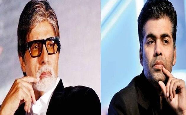Karan Johar issues apology to Amitabh Bachchan on Twitter