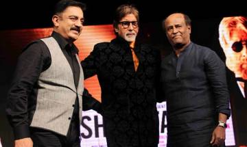 Rajinikanth enters politics; Big B, Kamal Haasan, Anupam Kher, Riteish Deshmukh wish him luck