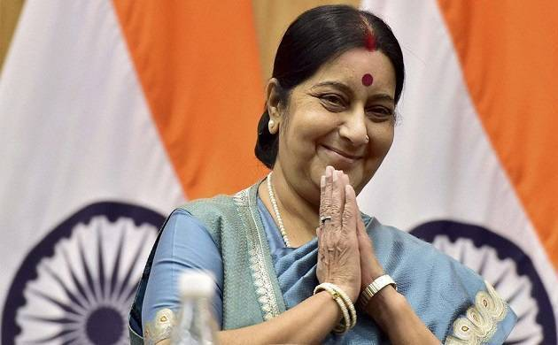 External Affairs Ministers Sushma Swaraj - File Photo