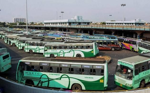 Bus services hit across Tamil Nadu as transport unions continue strike (PTI photo)