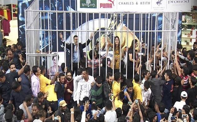Bigg Boss 11 Highlights, Episode 95 Day 94 : Fans go berserk after meeting Vikas, Hina, Luv, Shilpa (Source- Colors' Twitter)