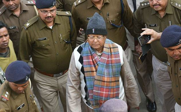 CBI court to award punishment to Lalu Prasad in fodder scam via video conferencing shortly (PTI Photo)
