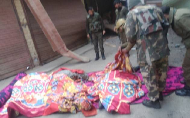 Four policemen killed in IED blast in Jammu and Kashmir's Sopore
