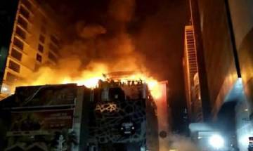 Flying embers from illegal hookah probable cause of Kamala Mills fire