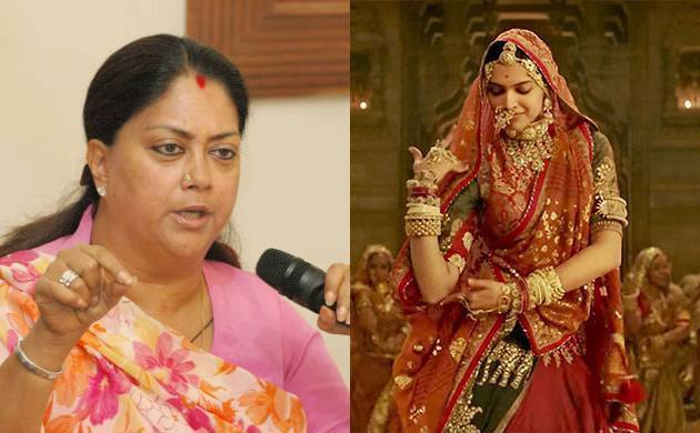 Padmavat NOT to release in Rajasthan; Raje says 'Will not allow defamation of Rani Padmini's honor'
