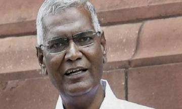 CPI leader D Raja meets Justice Chelameswar; says the meeting was personal