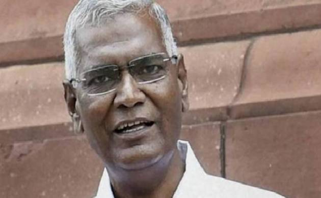 CPI leader D Raja meets Justice Chelameswar; says the meeting was personal (File Photo)