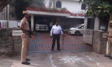 ED raids Karti Chidambaram's premises in Delhi and Chennai, Congress calls it politics of vendetta