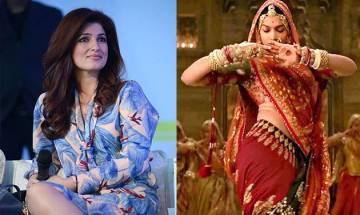 Twinkle Khanna broke silence over PadMan vs Padmaavat clash