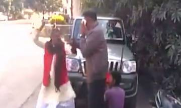 WATCH | BJP leader SLAPS District Transport Officer in Jharkhand