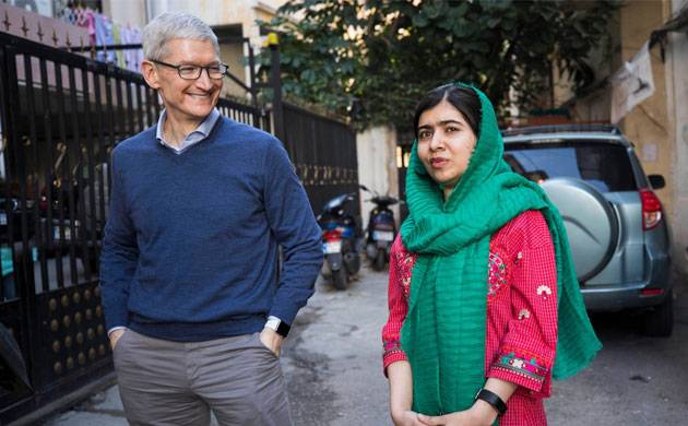 Apple, Malala partner to extend education programs to 10,000 girls (Source: Twitter)