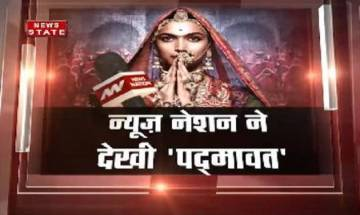 News Nation Review: 'Sanjay Leela Bhansali's Padmaavat shows Rajputana majesty, honour, dignity'
