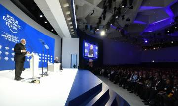 WEF 2018: PM Modi hits out at protectionism; says terrorism, climate change grave threats