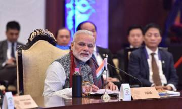 ASEAN summit: PM Modi lays emphasis on freedom of navigation in maritime domain