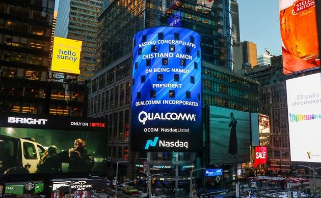 EU fines chipmaker Qualcomm 1 billion euros for Apple deal (Source: Twitter)